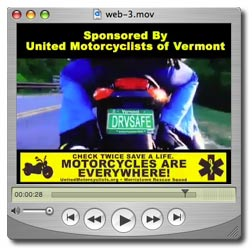Motorcycle Safety and Awareness PSA 30 seconds